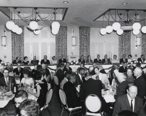 Ballroom, December 1966 at the Valspar 160th Anniversary celebration.