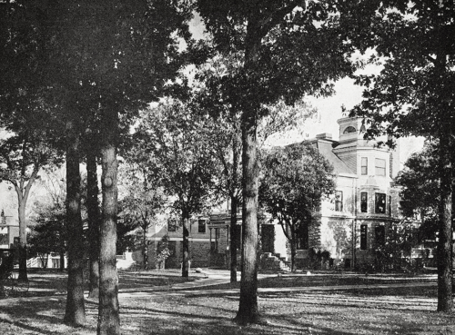 This is how Barnes' home looked during his residency in the early twentieth century.