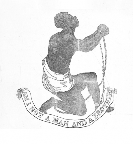 This was a popular symbol of the abolitionist movement.