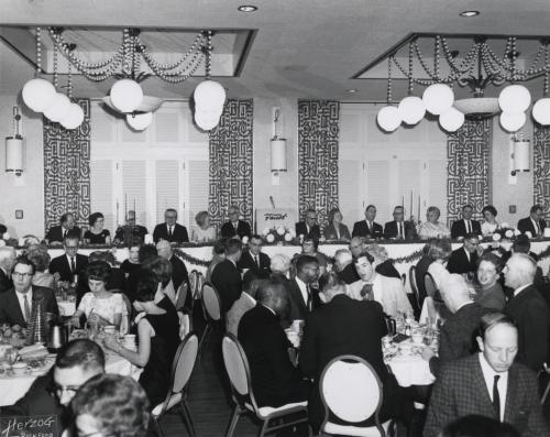 Ballroom, December 1966 at the Valspar 160th Anniversary celebration.