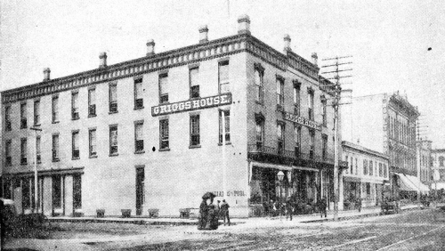 Before Chick purchased the hotel in 1888, it was known as the Griggs House.