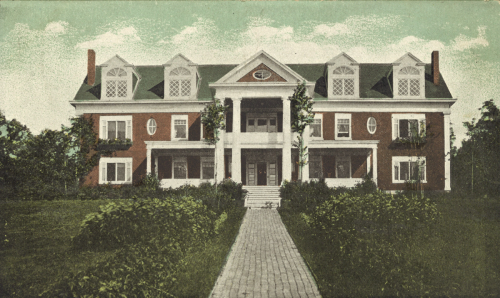 The Shoudy residence when Belle Keith purchased it in the 1920s.